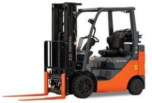 Toyota Forklift equipment